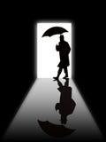 silhouette de l'homme s de trappe illustration de vecteur