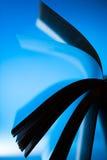 Silhouette de livre de Mysteriouse - résumé Photo libre de droits