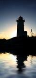 Silhouette de Nobska Photo libre de droits