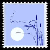 Silhouette de vecteur des oiseaux Images libres de droits