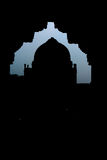 Silhouette effect on Fort Stock Images