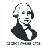 Silhouette George Washington Photos stock