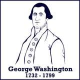 Silhouette George Washington Stock Images