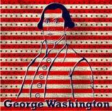 Silhouette George Washington Stock Photo