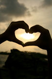 Heart sign Stock Image
