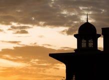 Silhouette islamique I de dôme photos stock