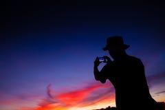Silhouette Royalty Free Stock Photos