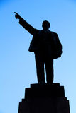 Silhouette Lenin Stock Photos
