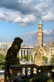 Silhouette Lion Bradford UK Stock Photo
