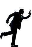 Silhouette man full length Stock Photos