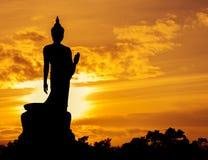 Free Silhouette Of Buddha Statue Stock Photo - 45083280