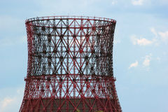 Free Silhouette Of Building Power Plant Cooling Tower Against Blue Sk Royalty Free Stock Photo - 71175065