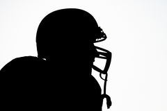 Silhouette Of Rugby Players Royalty Free Stock Image