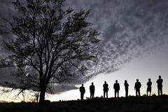 Free Silhouette Of Success Stock Photos - 9107863