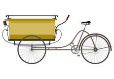 Retro utylity tricycle. Stock Photography