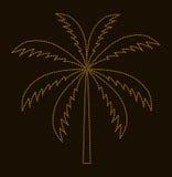 Silhouette of Palm Tree. Vector illustration vector illustration