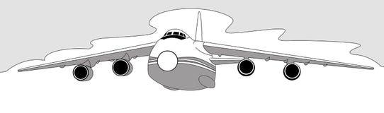 Silhouette plate illustration de vecteur