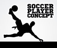 Silhouette Soccer Player Stock Photos