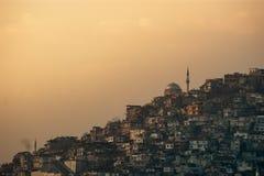Silhouette of Izmir City Stock Image
