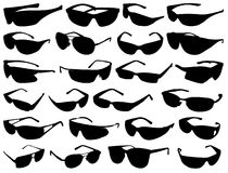 Silhouette Sun Glass Royalty Free Stock Image