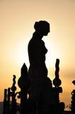 Silhouette of Venus de Milo Stock Photo