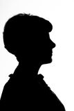 Silhouette of a woman Royalty Free Stock Photography
