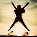 001 silhouette woman fotografering för bildbyråer