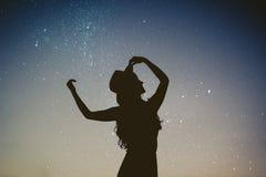 Silhouette, Woman, Art, Girl, Black Stock Photo