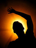 Silhouette3 Royalty-vrije Stock Afbeeldingen