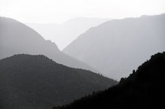 Silhouetted Canyon Stock Photos