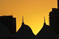 silhouetted kupoler royaltyfri fotografi