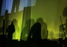 Silhouetten Stock Foto's