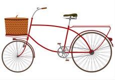 Cycle åker lastbil stock illustrationer