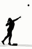 Silhouetten - Gezet Schot Royalty-vrije Stock Afbeelding
