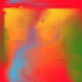 Silhouetten van mensen achter het glas. Royalty-vrije Stock Afbeelding