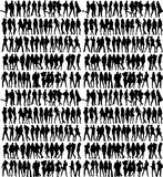 Silhouettes Royalty Free Stock Photography