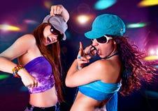 Silhouettes 3 de danse Photos libres de droits