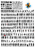 Silhouettes vector illustration