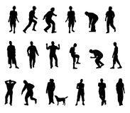 Silhouettes Royalty Free Stock Images