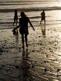 silhouettes Photos stock