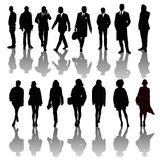 Silhouettes Royalty Free Stock Image
