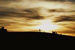 silhouettes Photos libres de droits