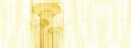 Silhouettes of big Greek columns. Silhouettes of big Greek columns on texture of a tree Royalty Free Stock Photos