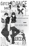 Silhouettes of dancing people. Silhouettes of dancing young couples in various poses Royalty Free Stock Images