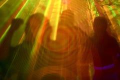 Silhouettes de danseurs photo libre de droits