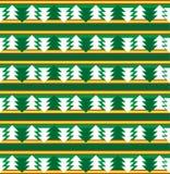 Silhouettes de fond de vecteur des arbres Photos libres de droits