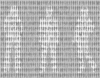 Silhouettes de gens Photo stock