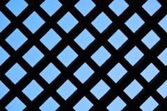 Silhoutte eines Gitters Lizenzfreie Stockfotografie
