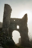 Silhoutte of ruins Royalty Free Stock Photo