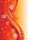 Silhueta abstrata dos elementos do projeto da ilustração Imagens de Stock